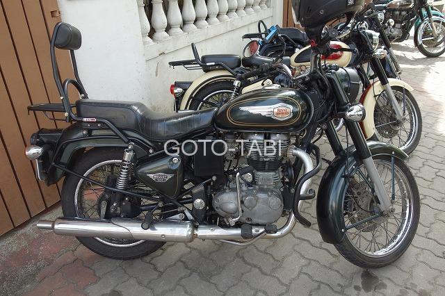 インドのバイク