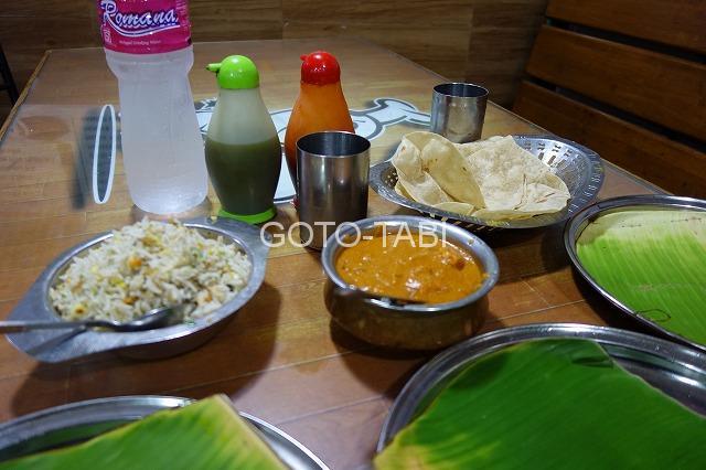 インド食事