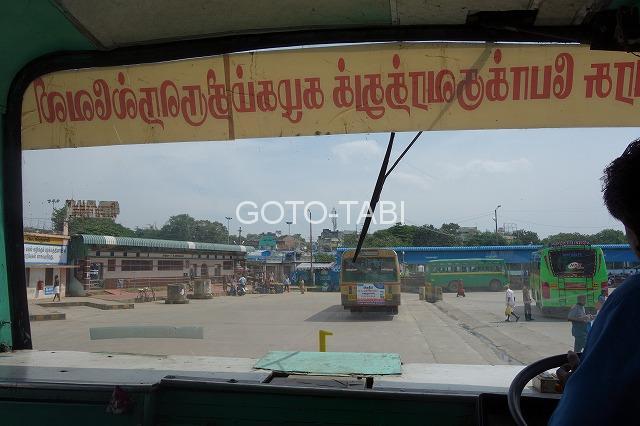 インドバス停