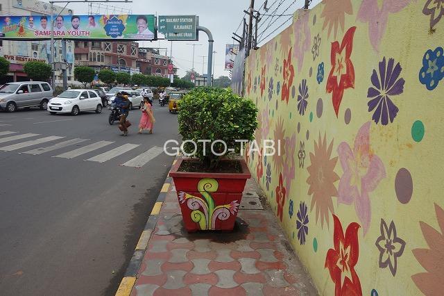 インド歩道