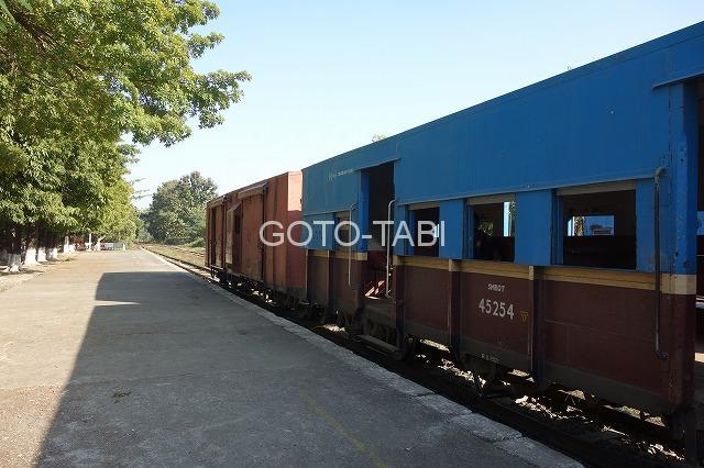 カレーミョの列車