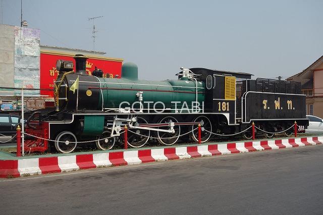 ピサヌロークの機関車