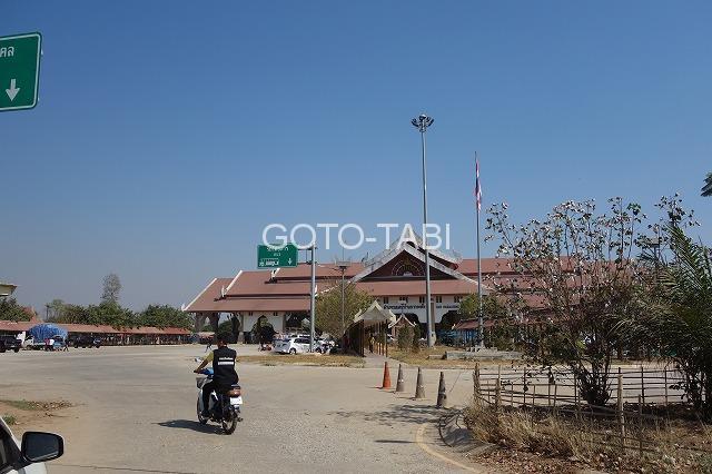 タイ側国境建物