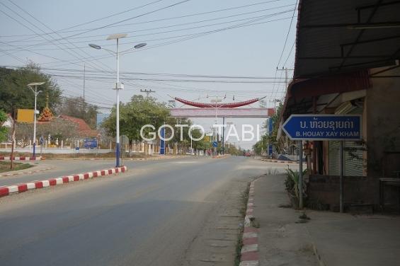 パクライの街道