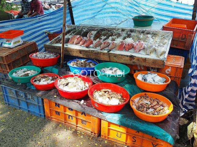 コーチン魚市場