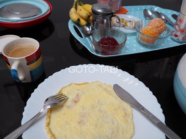 コーチン朝食